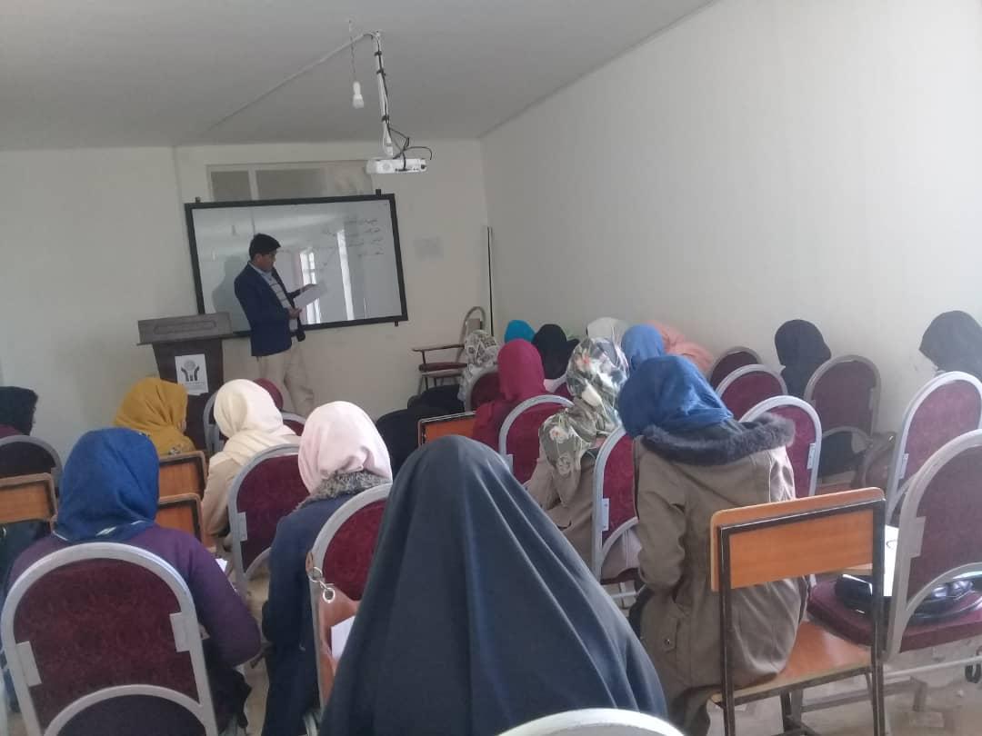 آموزش و توانمندسازی مدافعان جوان و حرفه ای در افغانستان
